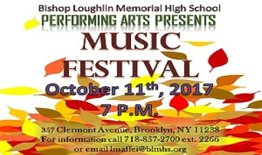 Please come to our Performing Arts Festival  on October 11