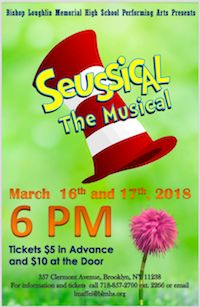 Loughlin Performing Arts Presents Seussical The Musical